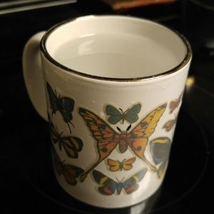 "Color changing ""save the butterflies"" mug"